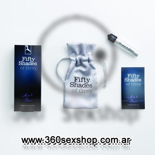 Bala vibradora XL Fifty Shades of Grey Vibrating Bullet